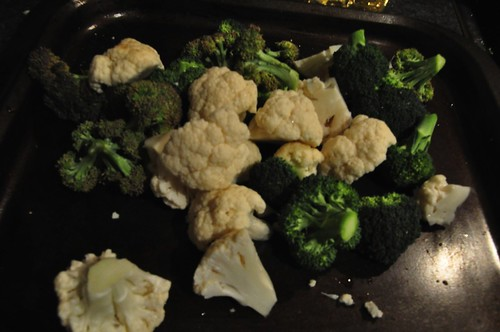 Cauliflower and Brocolli