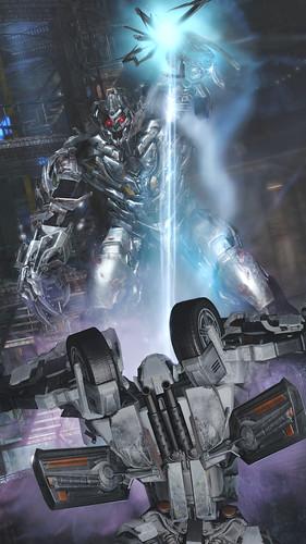 Transformers DOTM - Megatron Drain