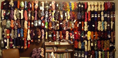 SomeBunnysLove's stash of yarn