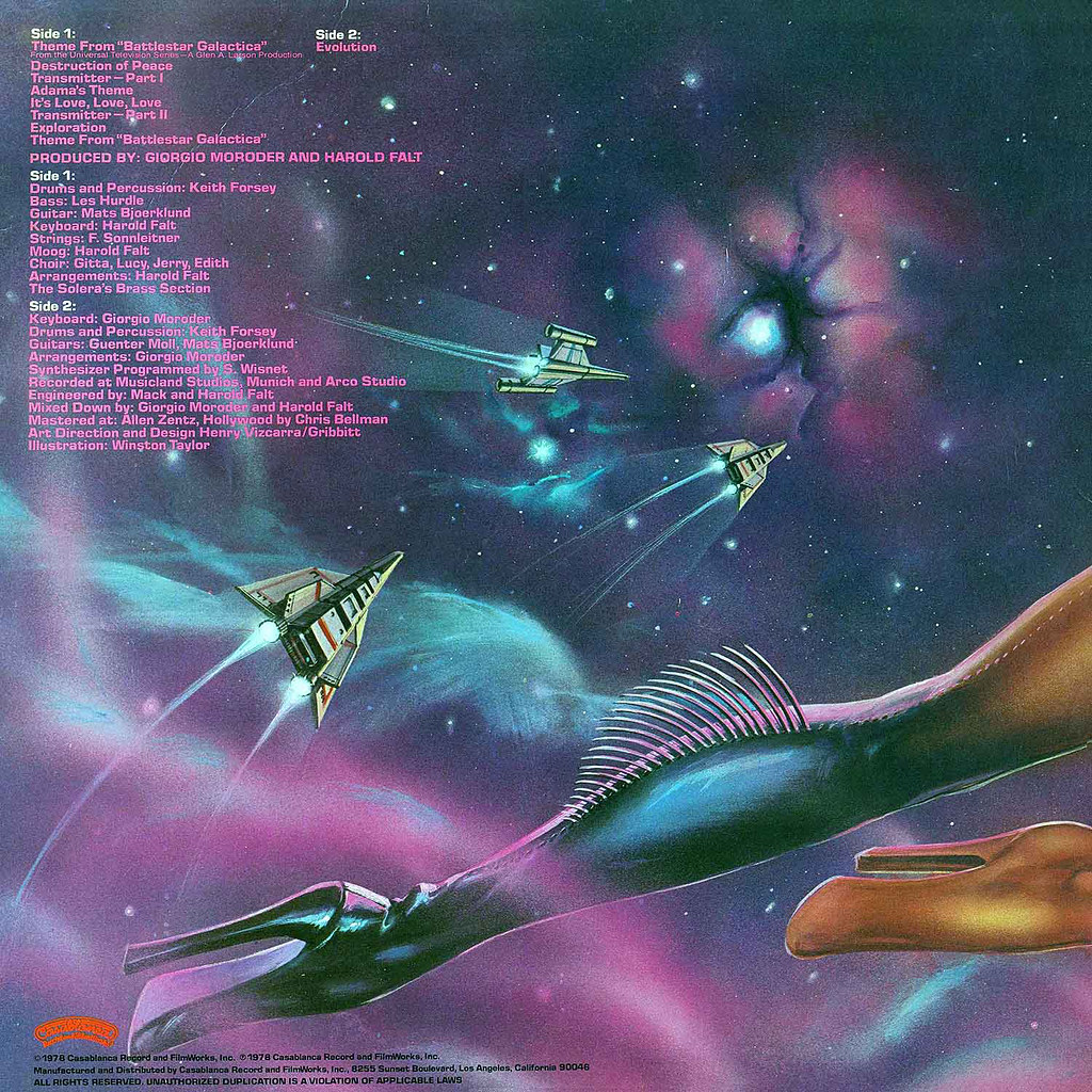 Giorgio Moroder - Battlestar Galactica
