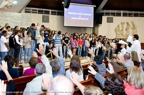 Benção dos Jovens e Adolecentes - 15/05/2011