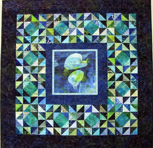 Calla Lilies May Gallery Exhibit @Quiltworks