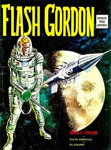 001-Flash Gordon Vol 1-nº1 Ediciones Vertice -reedicion 1974-portada