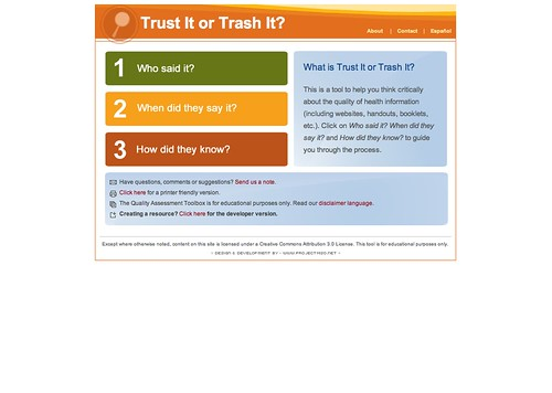 Trust or Trash