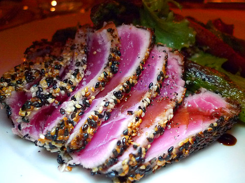 Seared Ahi at Osteria Firenze
