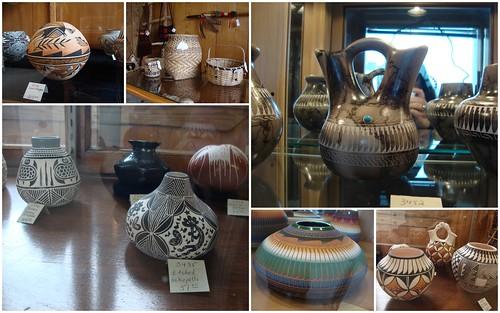 Pottery, Baskets at Santa Fe South