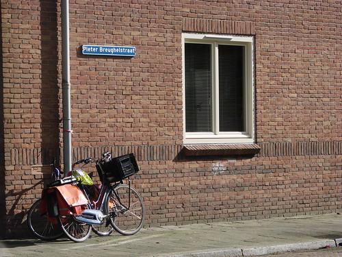 Fietsen op Brughelstraat