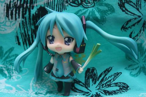 Lucky Star x Vocaloid Nendoroid