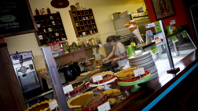 """amazing pies at """"Chile Pie and Ice Cream"""", NOPA, San Francisco"""