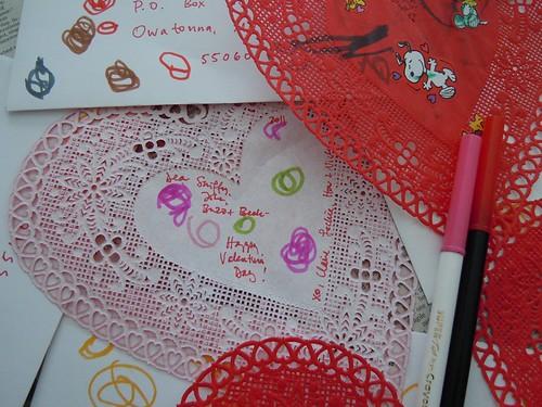Toddler Valentines detail