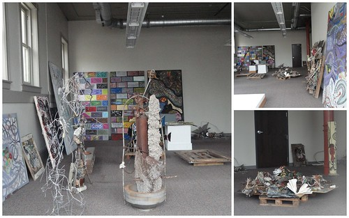 Charlie Lucas' Studio At Young & Vann Building in Bham