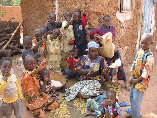 Dans un quartier de Bobo-Dioulasso