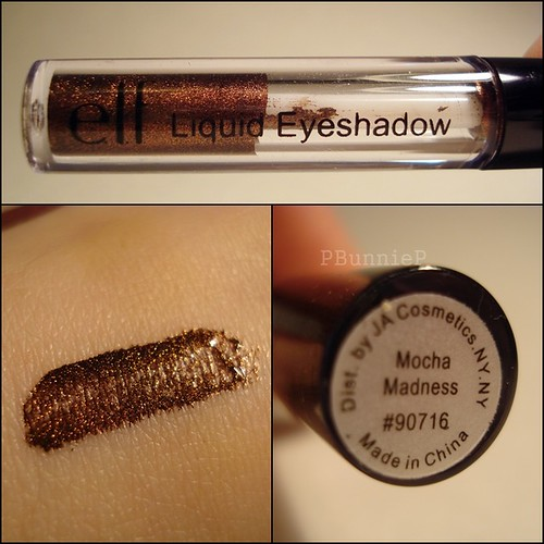 ELF Liquid eyeshadow mocha madness