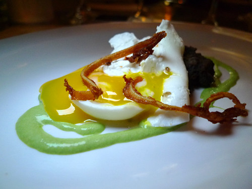 Poached Egg w Pig Ears, Magnum @ Pal Cabron