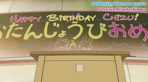 9. HAPPY BDAY CHIZU!