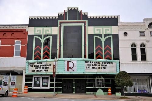 Ritz Theatre Talladega AL Movie Theatre Exterior
