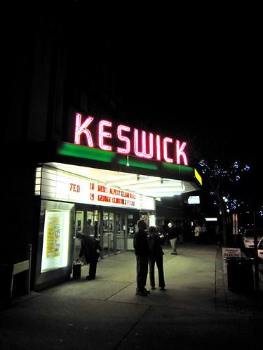 Keswick Theatre Neon Sign