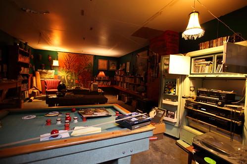 The rumpus room?