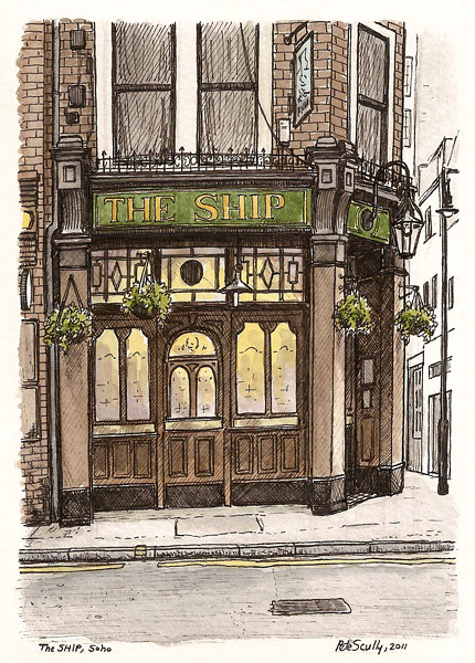 the ship, soho