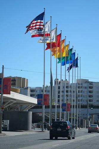 San Francisco flags