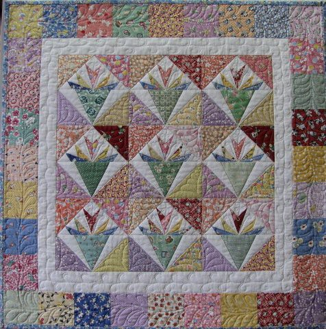 30's Nosegays, May Gallery Exhibit @Quiltworks