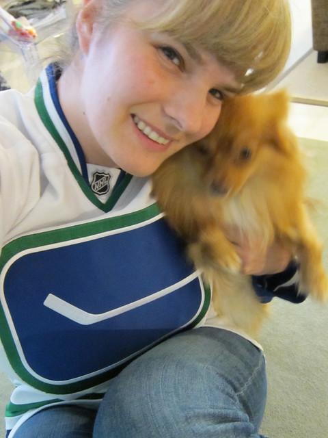 My Jersey & Blurgie Dog
