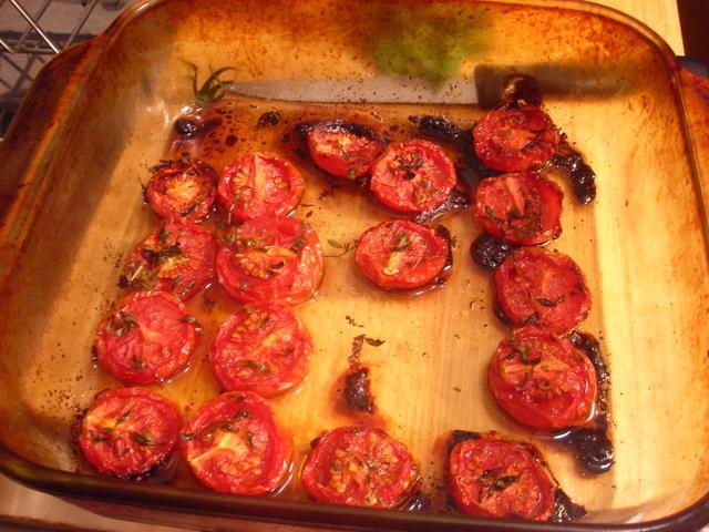 Campari tomato confit