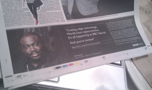 Me in the guardian today (11/4/2011)