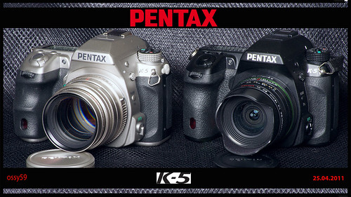 Pentax K-5 & K-5 Silber Limited Edition