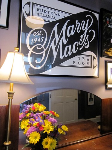 Mary Mac's Tea Room Midtown Atlanta 1945