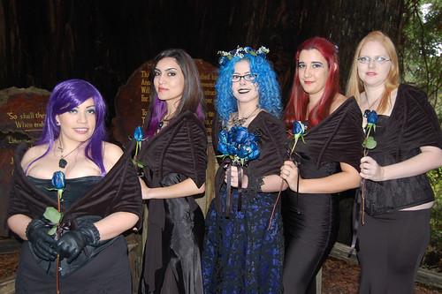 Bridesmaids with Batpacks