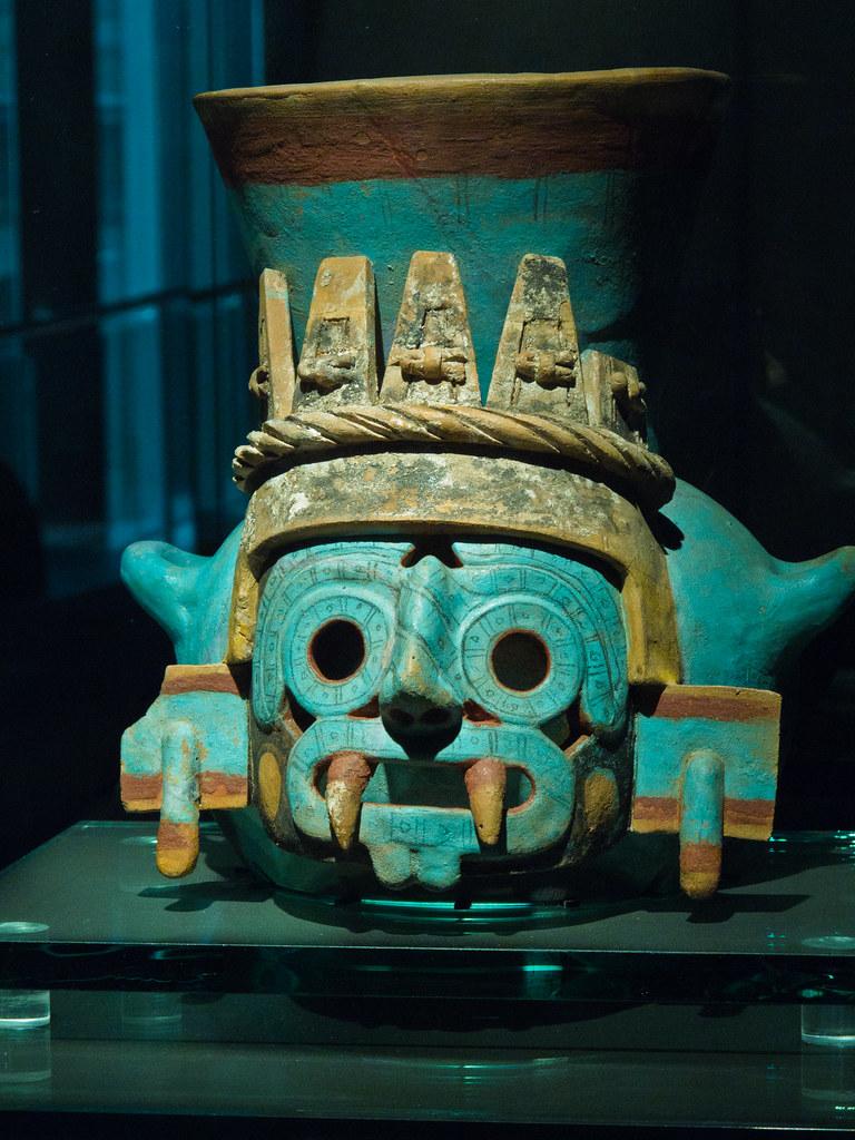 Turquoise mask