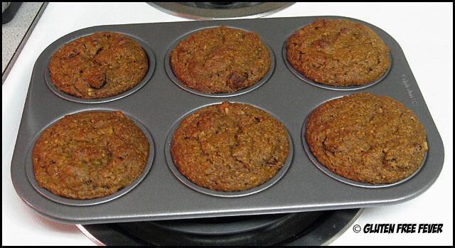 Gluten-Free Cranberry Nut Muffins