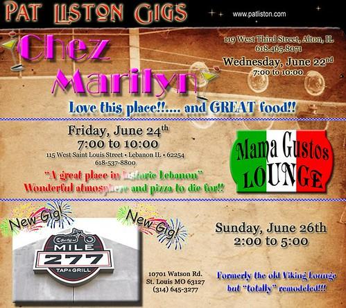 Pat Liston 6-22 thru 6-26-11