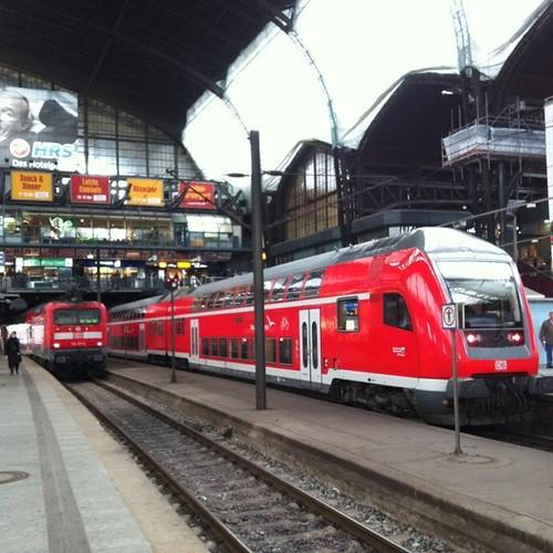 ภายในสถานีรถไฟแฮมบูร์ก