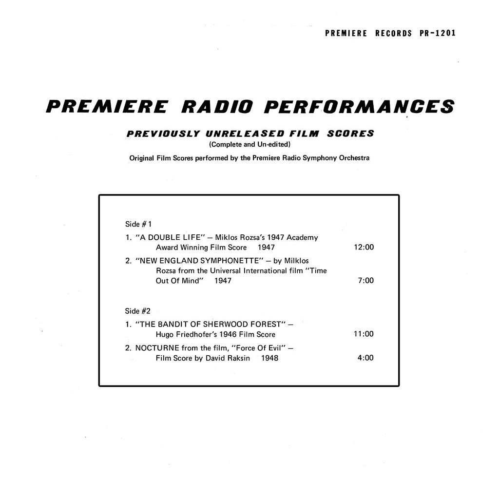 Various Artists - Premiere Radio Performances