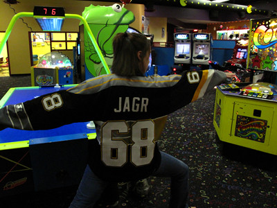 Air Hockey at Funfest