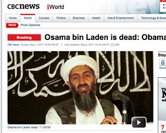 Obama confirms death of Osama bin Laden