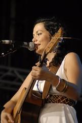 Leah Flanagan playing at Bluesfest on Saturday