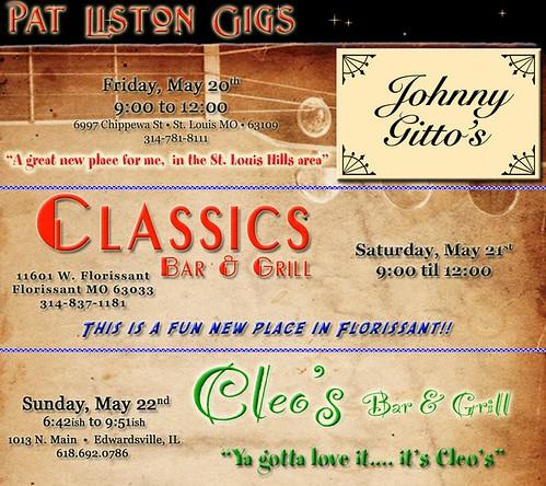 Pat Liston 5-20 thru 5-22-11