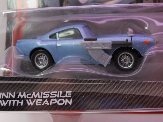 disney cars 2 finn mcmissle with weapons grem maters secret mission 2 pack (2)