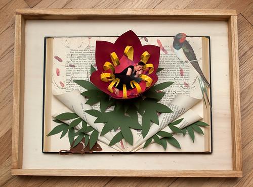 Altered Book Thumbelina-5