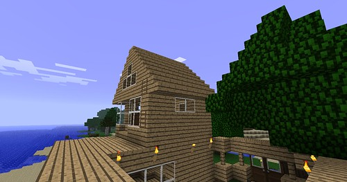 Minecraft - The Roof 3