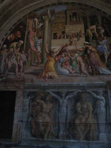 Raphael rooms! 'sup Raphel (I saw him earlier though…he's buried in the Pantheon).