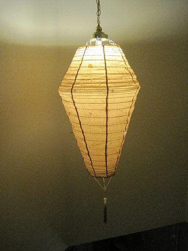 Upcycled Light Fixture