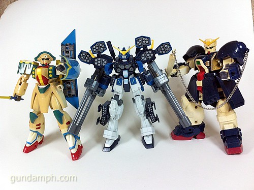 Old G-Series Gundams 1994 (1)