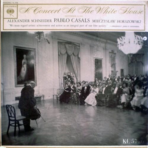 アマデウスクラシックス通販レコードの案内 - ホワイトハウスのパブロ・カザルス