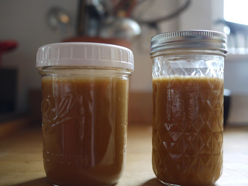 Jars of cajeta