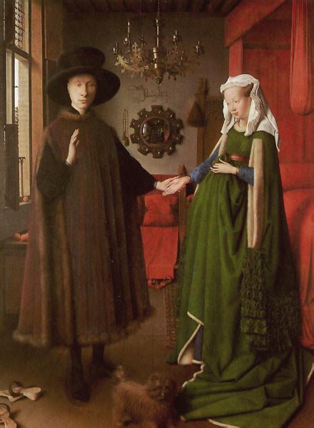 Jan van Eyck -- the Arnolfini Wedding