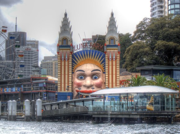 Luna Park - Sydney, Australia (HDR)